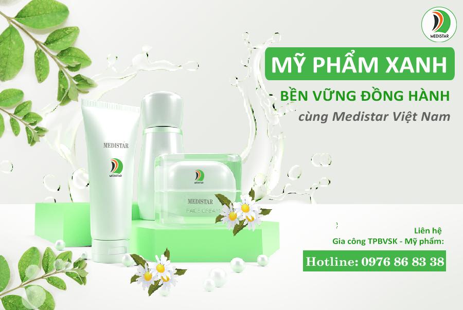 mỹ phẩm xanh Medistar Việt Nam